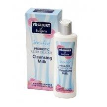BIO Fresh Cosmetic Probiotické pleťové odličovacie mlieko na tvár s ružovým olejom , 230ml
